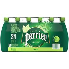 Perrier Sparkling Natural Mineral Water, Citron Lemon-Lime (16.9 oz. bottles., 24 ct.)