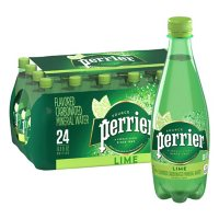 Perrier Sparkling Natural Mineral Water Lime (16.9 fl. oz., 24 pk.)