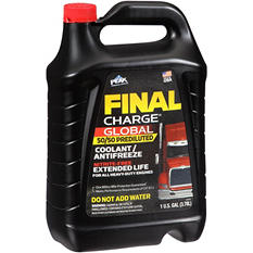 Final Charge Extended Life 50/50 Prediluted Coolant/Antifreeze (6-pack / 1-gallon bottles)