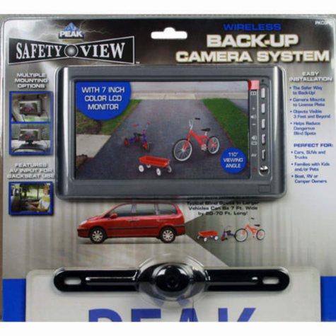 Safety View Wireless Back-Up Camera System