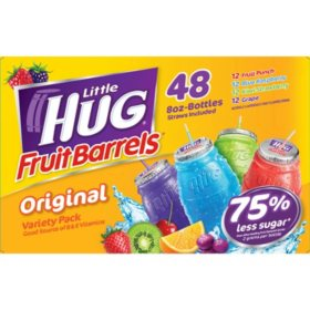 Little Hug Fruit Barrels (8oz / 48pk)