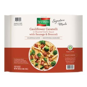 Seviroli Sausage and Broccoli Skillet Meal with Cauliflower Pasta, Frozen (60 oz.)