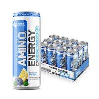 Optimum Nutrition Essential Amino Energy + Electrolytes Sparkling Hydration Drink, Blueberry Lemonade (12 ct.)