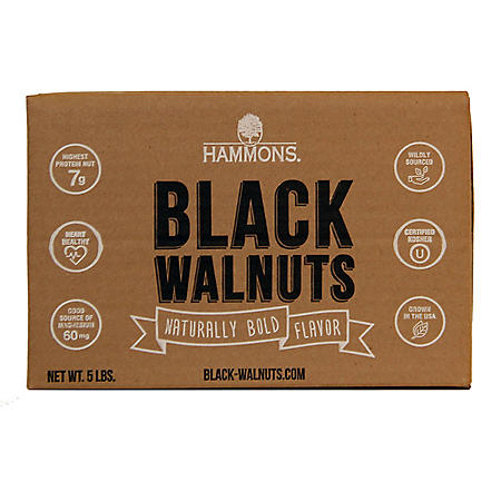 Hammons American Fancy Large Black Walnuts - 5 lb.