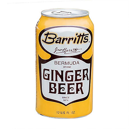 Barritts Ginger Non-Alcoholic Beer (12 fl. oz. can, 4 pk.)