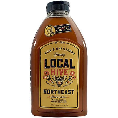 Local Hive Northeast Raw & Unfiltered Honey (40 oz.)