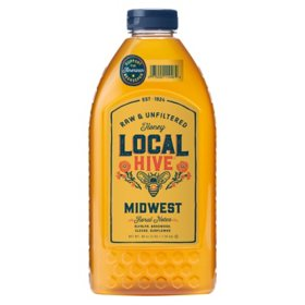 Local Hive Midwest Raw & Unfiltered Honey (48 oz.)