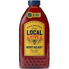 Local Hive Northeast Raw & Unfiltered Honey (48 oz.)