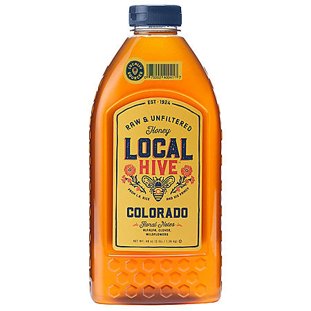Local Hive Colorado Raw & Unfiltered Honey (48 oz.)