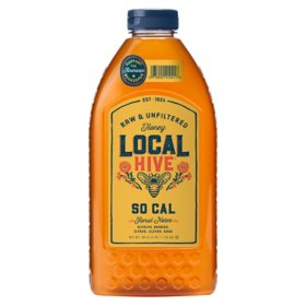 Local Hive So Cal Raw & Unfiltered Honey (48 oz.)
