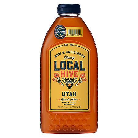 Local Hive Utah Raw & Unfiltered Honey (48 oz.)