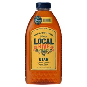 Local Hive Utah Raw & Unfiltered Honey (48 oz.)