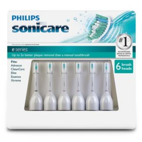 Philips Sonicare e-Series Replacement Brush Heads (6 pk.)