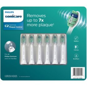 Philips Sonicare Plaque Control Brush Heads (6 pk.)