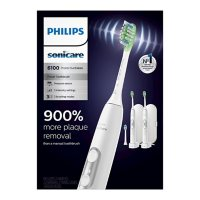 Philips Sonicare ProtectiveClean 6100 Whitening Electric Rechargeable Toothbrush, White (2 pk.)