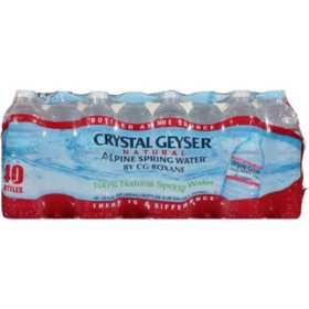 Crystal Geyser Alpine Spring Water (16.9oz / 40pk)