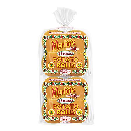 Martin's Potato Sandwich Roll (15oz / 2pk)