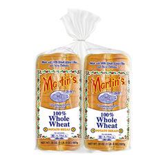 Martin's Whole Wheat Potato Bread - 40 oz. - 2 pk.