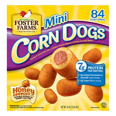Foster Farms Mini Corn Dogs (84 ct.)