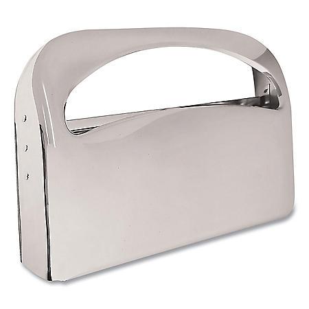 Boardwalk Toilet Seat Cover Dispenser, 16 x 3 x 11 1/2 (Chrome)