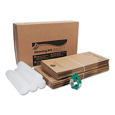 Duck - Moving Kit, 10 Boxes (Small and Medium) -  Bubble Wrap and Packing Tape