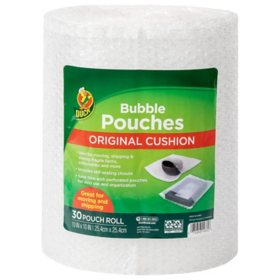 """Duck Bubble Pouches on a Roll - Clear, 30 Count, 10"""" x 10"""""""