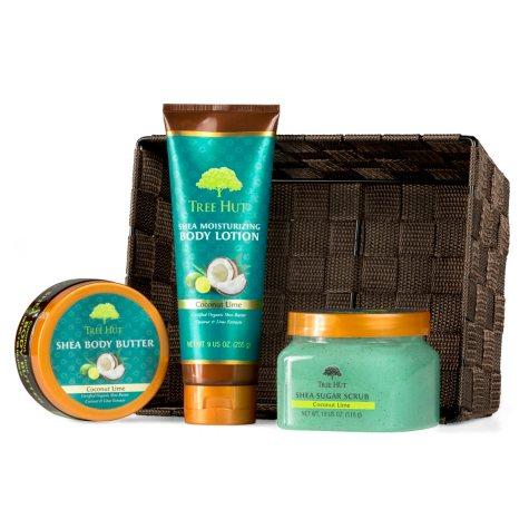 Tree Hut Shea Beauty Pack, Coconut Lime (3 pk.)