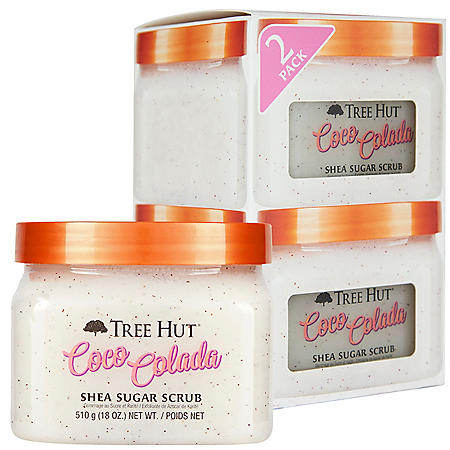 Tree Hut Coco Colada, Shea Sugar Scrub (18 oz., 2 pk.)