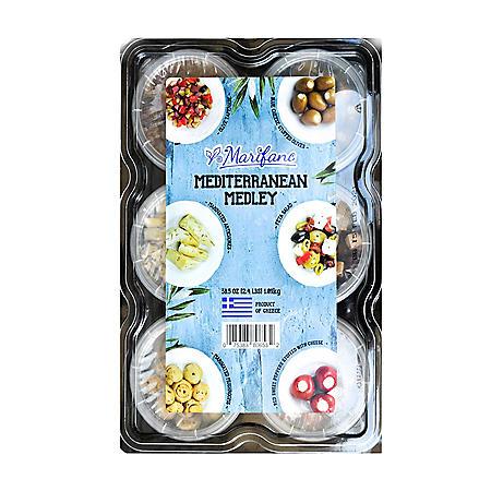 Marifano Mediterranean Antipasti Medley Platter (38.5 oz.)