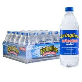 Springtime Artesian Water (20 oz., 30 pk.)