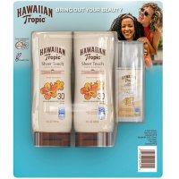 Hawaiian Tropic Face/Body SPF 30 Sunscreen (8 fl. oz., 2 pk. + Bonus 1.7 fl., oz.)