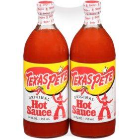 Texas Pete Hot Sauce (24 oz., 2 pk.)