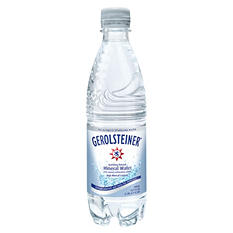 Gerolsteiner Sparkling Natural Mineral Water (16.9 oz. bottles, 24 pk.)