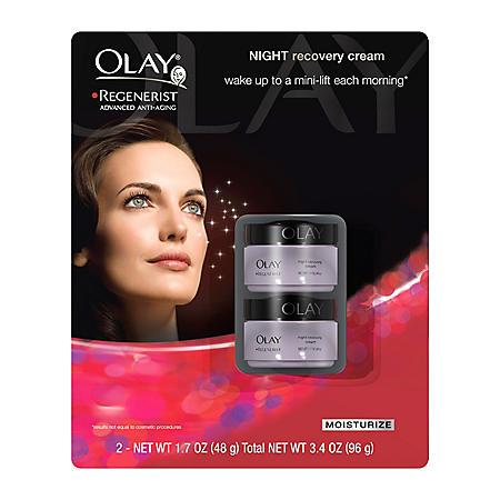 Olay Regenerist Night Recovery Cream (1.7 oz., 2 pk.)