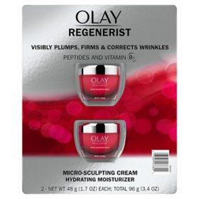 Olay Regenerist Microsculpting Cream (1 7 oz , 2 pk ) - Sam's Club