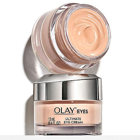 Olay Ultimate Eye Cream for Wrinkles, Puffy Eyes + Dark Circles, (0.4 fl. oz., 2 pk.)