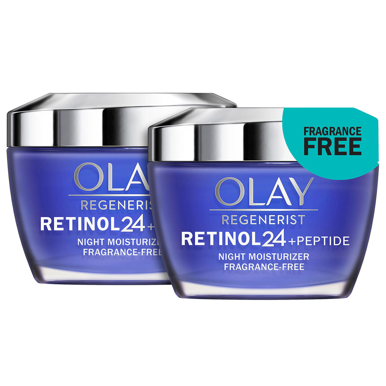 2-Pack Olay Regenerist Retinol 24 Night Facial Moisturizer
