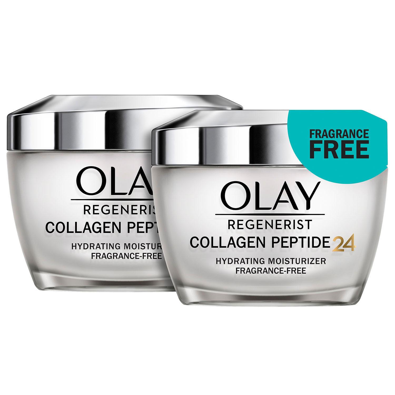 2-Pack Olay Regenerist Collagen Peptide 24 Face Moisturizer 1.7 Oz