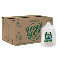 Poland Spring 100% Natural Spring Water (1 gal., 6 pk.)