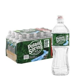Poland Spring 100% Natural Spring Water (23.7oz / 24pk)
