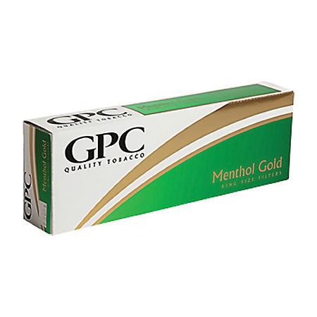 GPC Gold Menthol Kings Soft Pack (20 ct., 10 pk.)