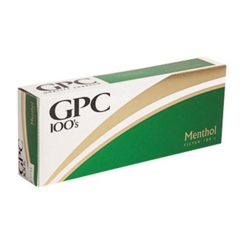 Gpc Menthol 100s  1 Carton