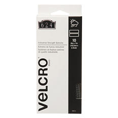 Velcro Extreme Indoor/Outdoor Hook and Loop Fasteners, 1 x 4 Strips, 10 Pack