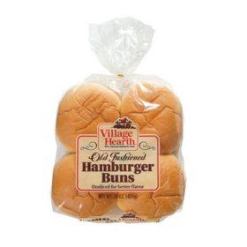 Village Hearth Hamburger Bun (16 ct., 30 oz.)
