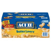 ACT II Butter Lovers Microwave Popcorn (2.75 oz., 32 pk.)