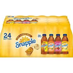 Snapple Tea Variety Pack (20 oz. bottles, 24 pk.)