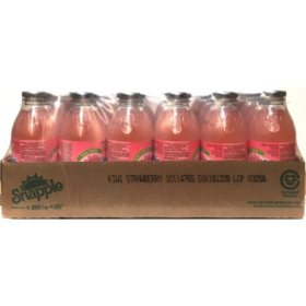 Snapple All Natural Kiwi Strawberry (16oz / 24pk)