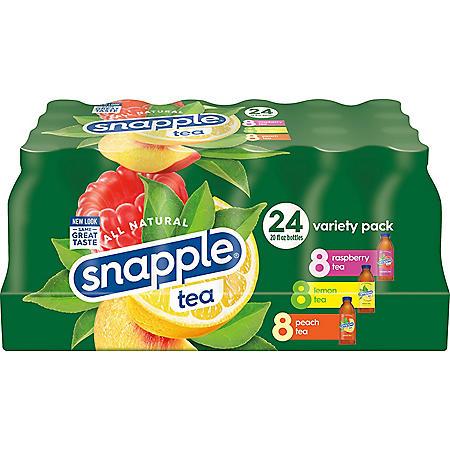 Snapple Tea Variety Pack (20oz / 24pk)