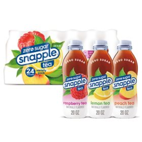 Snapple Diet Tea Variety Pack (20oz / 24pk)