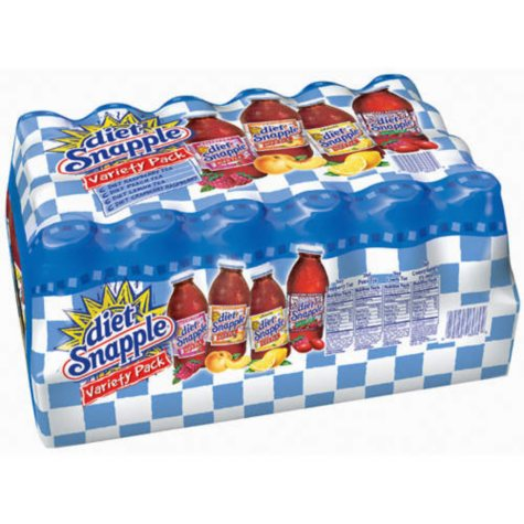 Diet Snapple® Variety Pack-24/16 oz. bottles